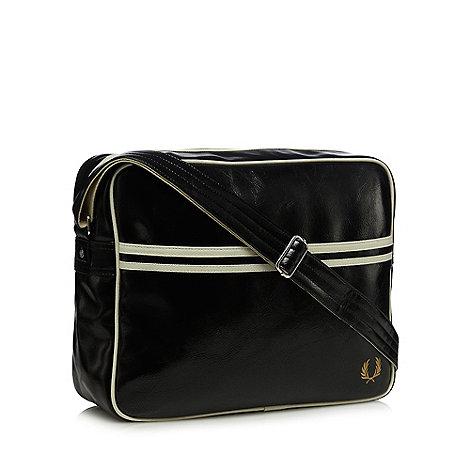 Fred Perry Black Essential Shoulder Bag 99